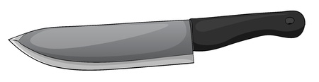 machete: Illustration of an isolated knife Illustration