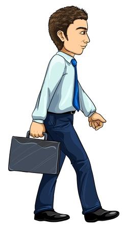 진화 시리즈에서 현대적인 남자의 그림