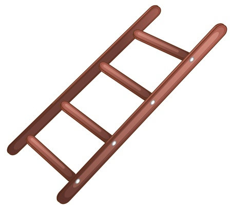 rungs: Ilustraci�n de una escalera simple