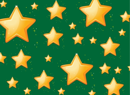Illustration of a star background Vector