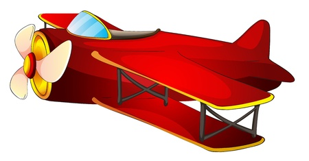noone: illustration of a aircraft on a white background