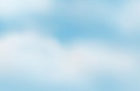 background sky: illustration of a blue sky and white clouds
