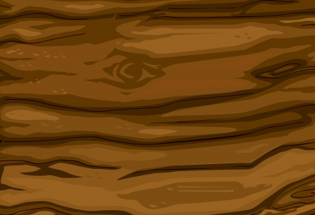 Illustrated texture of wood grain Vector