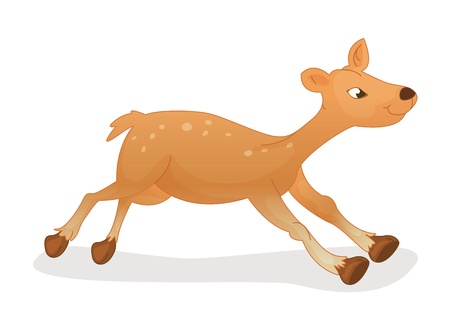 Illustration of a cute deer Vector
