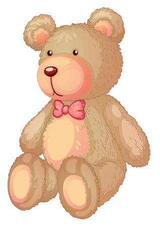 ositos bear: Ilustración de un oso pardo claro