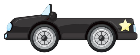 illustration of car on a white background Stock Vector - 15249918