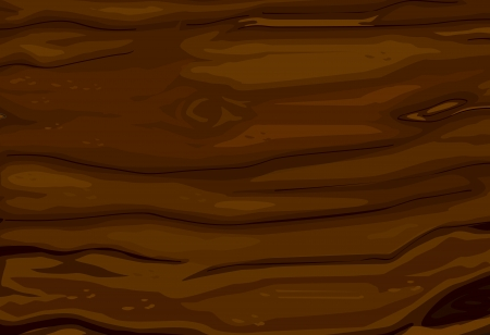 illustration of abstract wooden brown background Vector