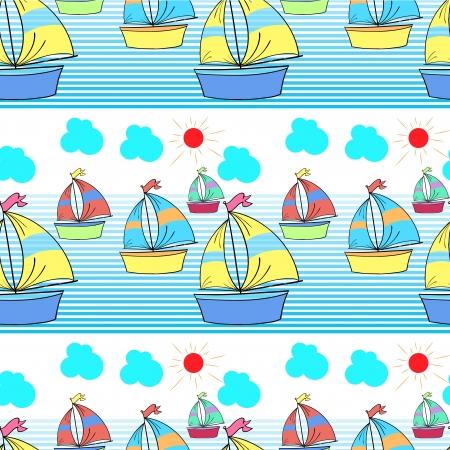 seamless: Ilustrace bezešvé vzor Ilustrace