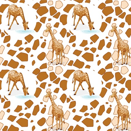 Illustration of a seamless pattern Stock Vector - 15250179