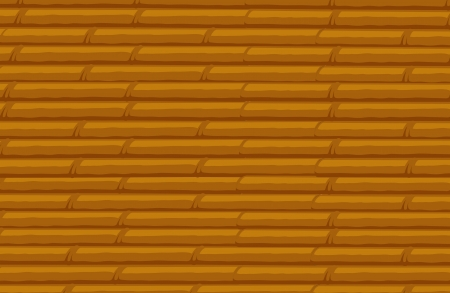 speculative: illustration of bamboo stack background on a white background