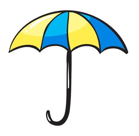 illustration of an umbrella on a white background Illustration