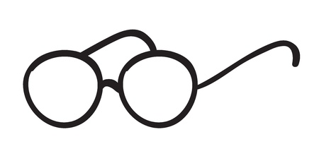 illustration of spectacles on a white background Stock Vector - 15848613