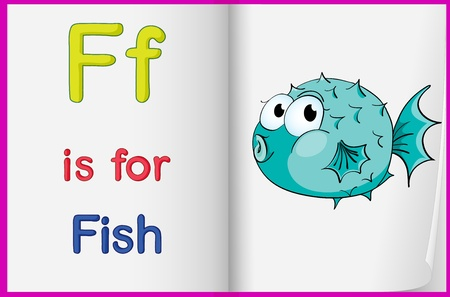 english letters: Worksheet teaching a letter and word with picture