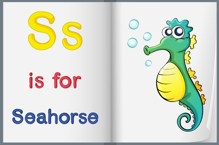 phonics: Worksheet teaching a letter and word with picture