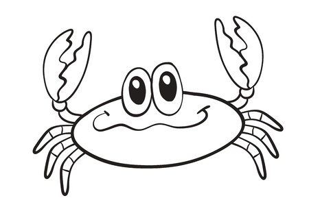 detailed illustration of a crab Stock Vector - 16027141