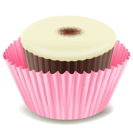 minature: Illustration of an isolated cupcake