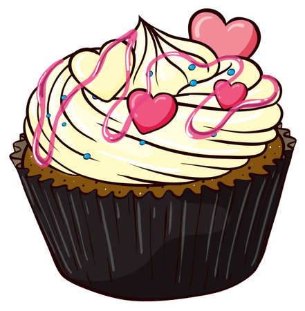 Illustration of an isolated cupcake Stock Vector - 16115312