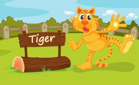 enclosure: Illustration of animal enclosure at the zoo