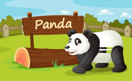 Illustration of animal enclosure at the zoo Stock Vector - 16117425