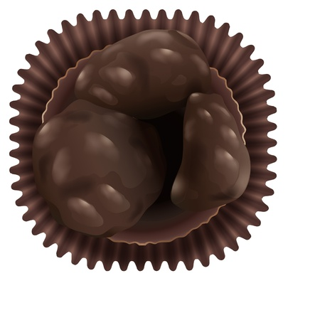 minature: illustration of a chocos on a white background