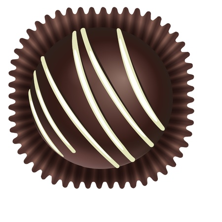 illustration of a chocos on a white background Vector