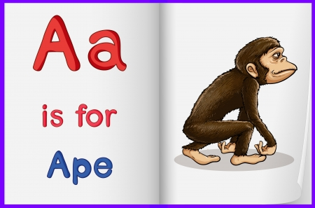 phonetics: Illustrated letters and words worksheet