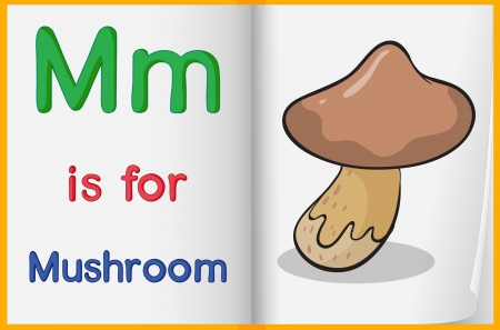 phonics: Illustrated letters and words worksheet