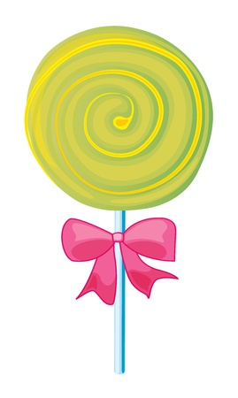 illustration of a lolly sweet on a white background Stock Vector - 16283075