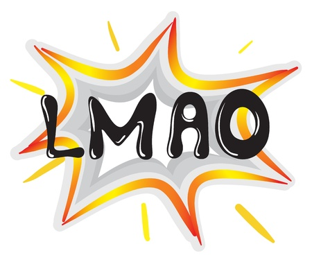 illustration of a speech bubble and a callout on a white background Vector