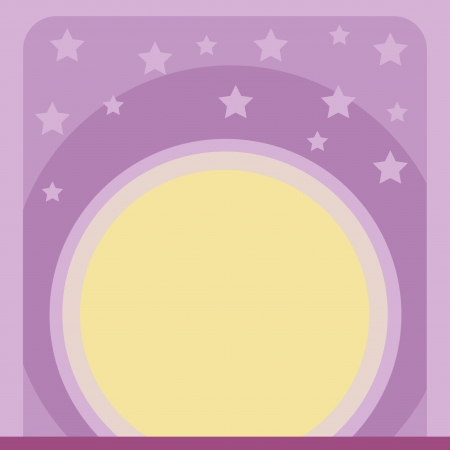 speculate: illustration of a wallpaper with stars