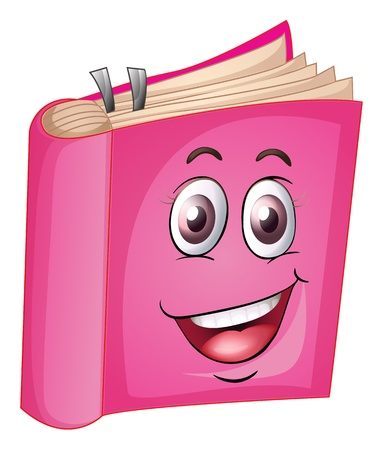knowledge clipart: illustration of a book on a white background Illustration