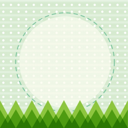 speculative: illustration of a green wallpaper