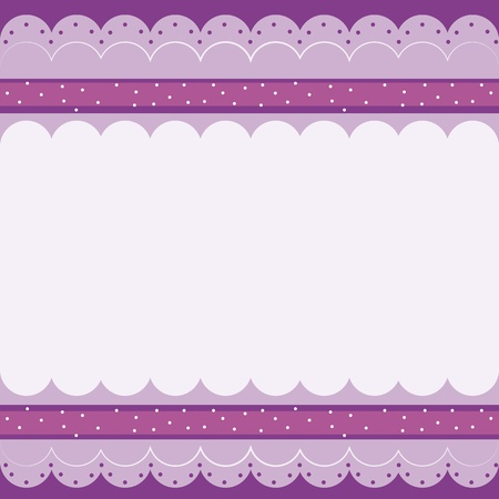 intangible: illustration of a purple wallpaper