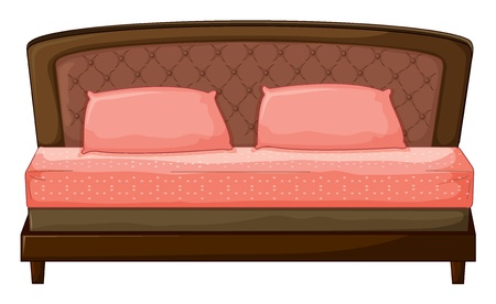 Illustration of a sofa-set on a white background Vector