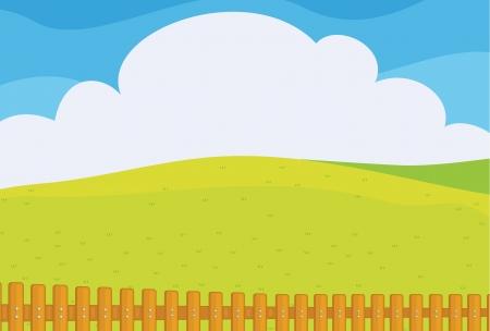noone: Illustration of a beautiful landscape