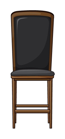 Illustration of a chair on a white background Stock Vector - 17046684