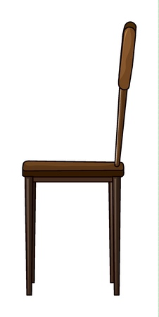 Illustration of a chair on a white background Stock Illustration - 17046690