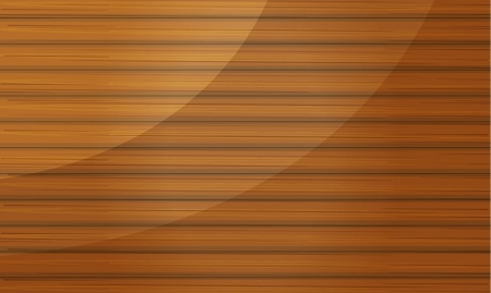 Illustration of a wooden bamboo abstract background Vector