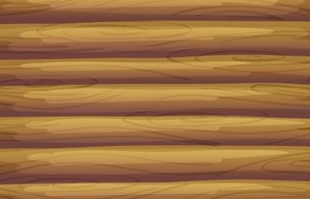 caba�a: Ilustraci�n de un fondo de bamb� Vectores