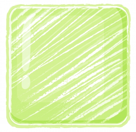 bewildered: Illustration of a yellow green abstract on a white background