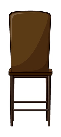 Illustration of a chair on a white background Stock Vector - 17358017