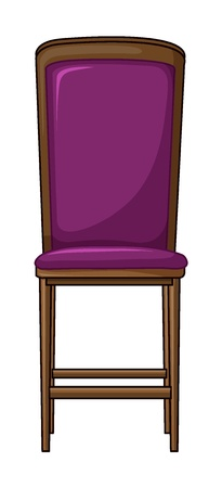 Illustration of a chair on a white background Stock Vector - 17358018