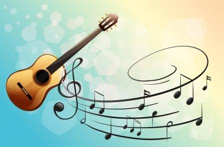 Illustration d'un instrument de musique