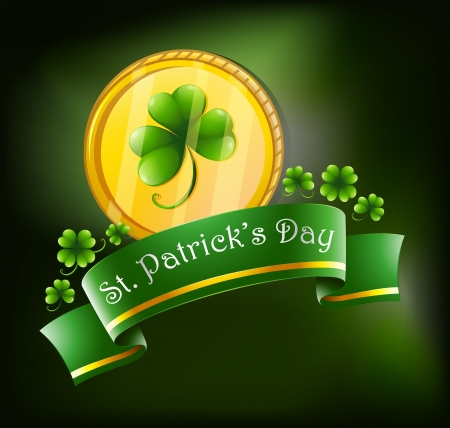 Illustration of the symbols for St. Patrick's celebration Stock Vector - 18390348