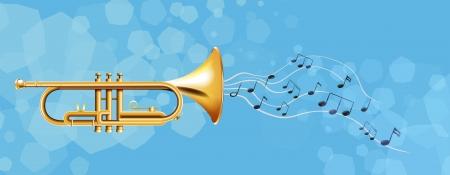 brass instrument: Illustration of the golden trumpet