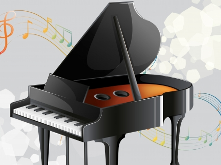 Illustration of a musical instrument Vector