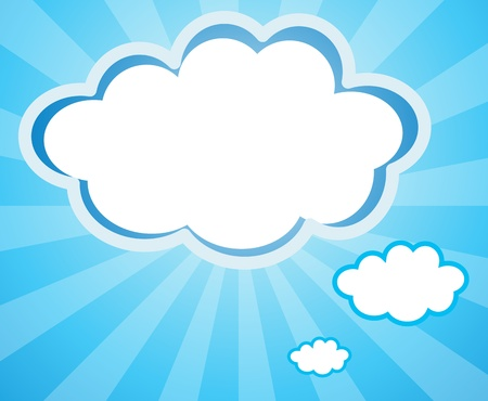 callout: Illustration of the empty cloud templates