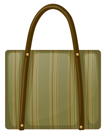 handy: Illustration of a handy bag on a white background Illustration