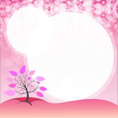 pinkish: Illustration of an empty stationery template Illustration