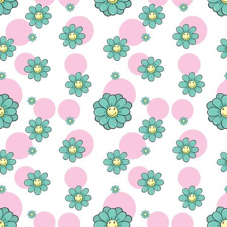 enhancement: Illustration of a seamless wallpaper design